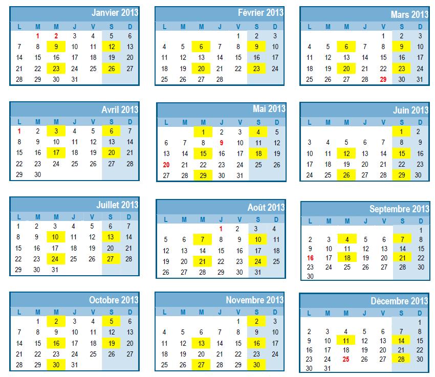 Calendrier scolaire 2016  2017 pour les cantons romands  Chez maîtresse